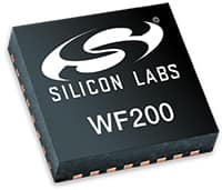 Image of Silicon Labs' WF200 Wi-Fi Transceiver IC